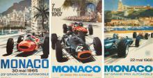 Michael TURNER (Né en 1934) Grand Prix de Monaco 1965, 1966 et 1967