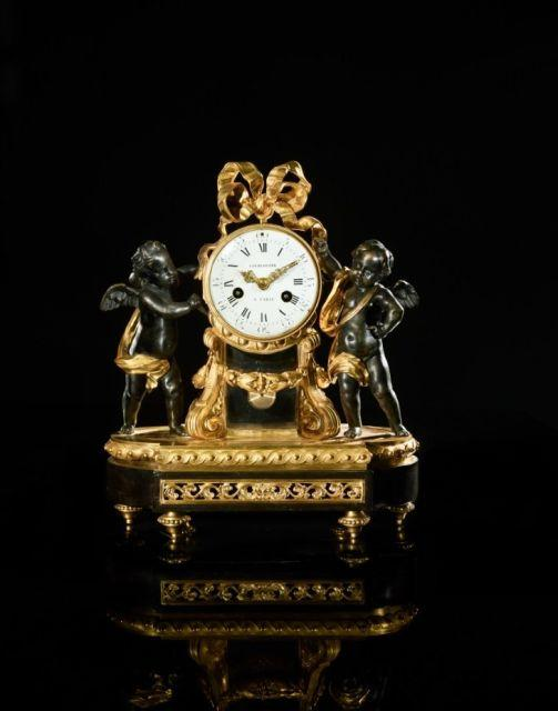 PENDULE D'ÉPOQUE LOUIS XVI Attribuée à Robert Osmond
