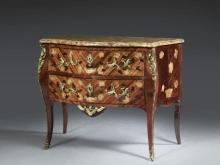 COMMODE D'ÉPOQUE LOUIS XV Estampille de François Garnier
