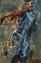 GEN PAUL (1895-1975) LE VIOLONISTE A LA JAQUETTE BLEUE, circa 1928 Huile sur toile,  Gen-Paul, Click for value