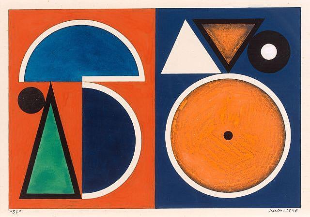 Auguste HERBIN (Qiuévy, 1882 - Paris, 1960) NOTE DE MUSIQUE
