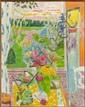 Jean-Jules-Louis CAVAILLES (Saint-Maixens, 1901-Arras, 1977) JARDIN A CANNES Huile sur toile