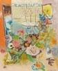 Jean-Jules-Louis CAVAILLES (Saint-Maixens, 1901-Arras, 1977) CORBEILLE DE FLEURS SUR LA NEIGE Huile sur toile