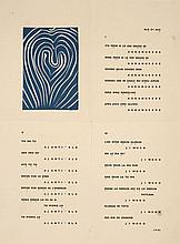 DIVERS ILLUSTRATEURS et ILIAZD (Illia Zdanevitch dit)  POESIE DE MOTS INCONNUS, 1949