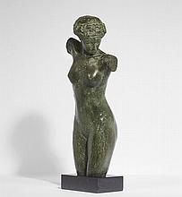 Paul LANDOWSKI 1875 - 1961 BUSTE DE FEMME