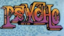 SEEN (Richard Mirando dit) Américain - Né en 1961 Psycho - 1984 Peinture aérosol sur toile