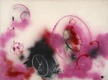 FUTURA 2000 Américain - Né en 1955 Draw your own conclusions - 1983 Peinture aérosol sur toile