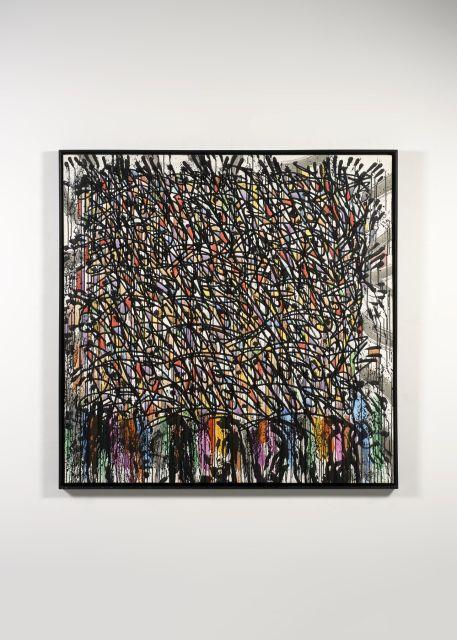 JONONE (John Perello dit) Américain - Né en 1963 Art Partners B.C - 2008 Acrylique sur toile