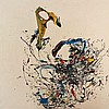 Katrin FRIDRIKS Islandaise - Née en 1974 Today's yellow talkshow (série des mangeurs d'étoiles) - 2006 Acrylique sur toile