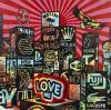 ¤ SPEEDY GRAPHITO Français - Né en 1961 City love me - 2011 Acrylique et marqueur sur toile
