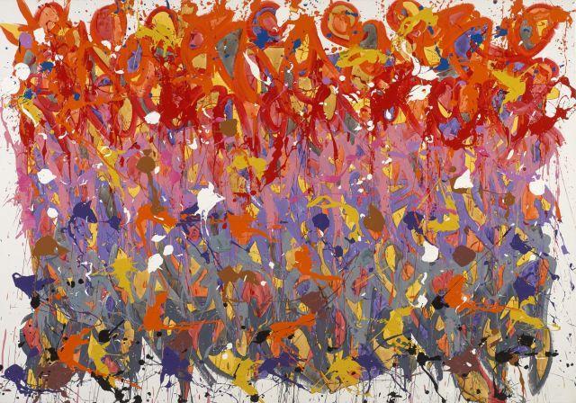 JONONE (John Perello dit) Américain - Né en 1963 Malibu - 2014 Acrylique sur toile