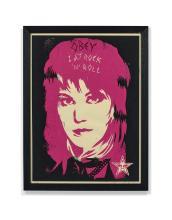 13ff4c86ef4 Shepard FAIREY (Alias OBEY GIANT) (Américain - Né en 1970) Joan Jett