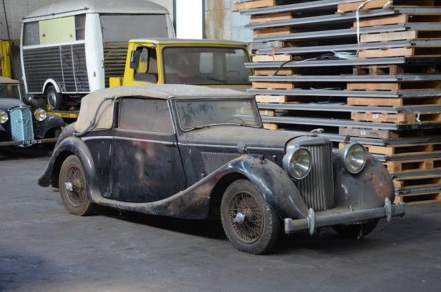 1948 Jaguar MK IV cabriolet  No reserve