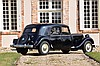 1952 Citroën Traction 15/6 malle plate  No reserve