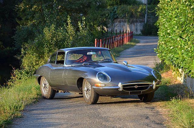 1962 Jaguar Type E 3,8 l coupé  No reserve