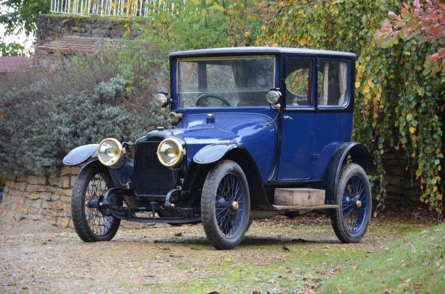 1914 Brasier 9 hp coach No reserve