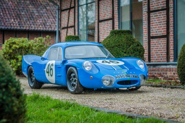 1964 Alpine M64 berlinette