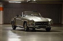 1958 Mercedes-Benz 190 SL avec hardtop