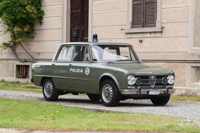 1969 Alfa Romeo Giulia Ti berline Polizia  No reserve