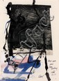 Antoni CLAVE (1913 - 2005) SANS TITRE, 2001 Technique mixte et collage sur papier