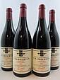 4 bouteilles CHAMBERTIN 2004 Grand Cru