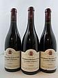 4 bouteilles CHAMBOLLE MUSIGNY 2002 1er cru La Combe d'Orveaux