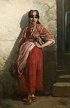 Henri Georges REGNAULT (1843 - 1871) JEUNE FEMME