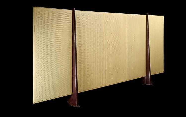 Jean PROUVE (1901 -1984) Panneau de séparation dit