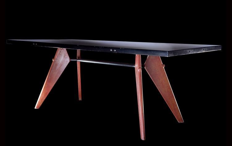 Jean PROUVE (1901 -1984) Table mod.503 dit