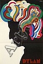 Milton GLASER (né en 1929) BOB DYLAN, 1967, Milton Glaser, Click for value