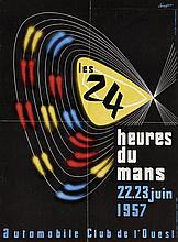 LES 24 HEURES DU MANS 1957 JEUDON