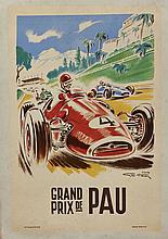 Géo HAM (Georges Hamel 1900-1972)  Grand Prix de Pau
