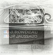 Michel LECOMTE (1935-2011)  La Rondeau M379, 24 Heures du Mans 1980