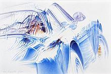 Michel LECOMTE (1935-2011)  Alpine Berlinette A110, souvenir d'une championne de monde