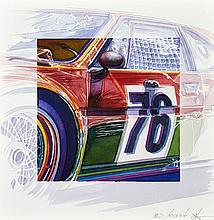Michel LECOMTE (1935- 2011)  Art Cars BMW M1 Andy Warhol