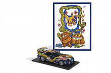 Hervé di ROSA (Né en 1959)  Maquette Chrysler Viper GT SR