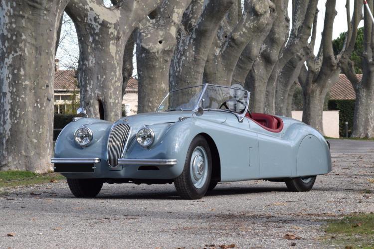 1952 Jaguar XK 120 roadster  No reserve