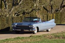 1959 Cadillac Series 62 Cabriolet ex-Albert Uderzo  No reserve