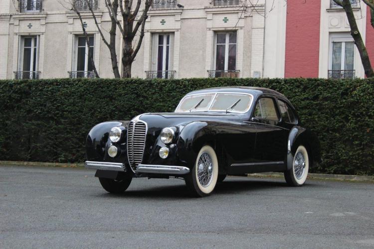 1951 Delahaye 135 M Coach Gascogne par Dubos No reserve