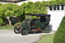 1908 De Dion Bouton Bi 15/18 HP double phaéton