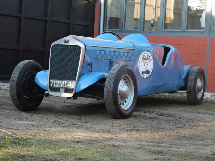 1937- 49 Delage D6-60 3 LSport Biplace ex-A.G.A.C.I. No reserve