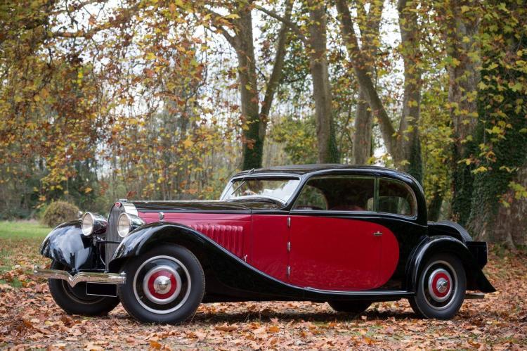 1934 Bugatti Type 57 coach Pre-Série Gangloff