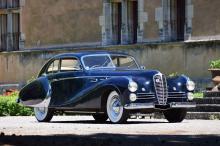 1950 Delahaye 148 L coach par Saoutchik, ex-Salon de Paris 1950
