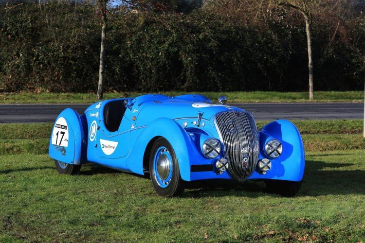 1938 Peugeot 402 DS Darl''mat Sport roadster