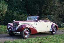1938 Citroën Traction 11 BL Cabriolet par Tonneline