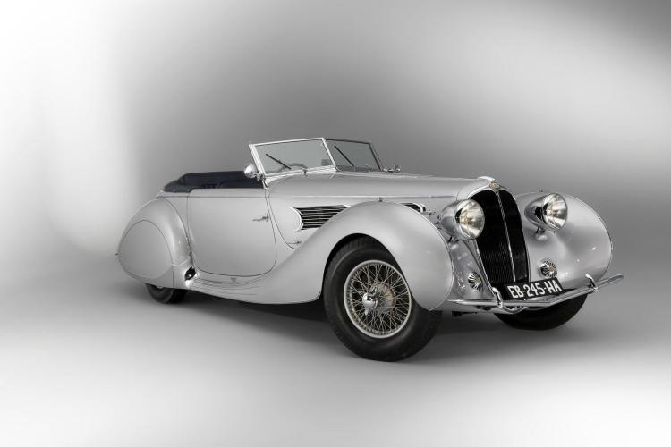 1939 Delahaye 135 MS Cabriolet par Figoni & Falaschi