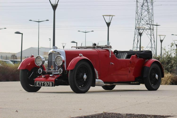 1935 Aston Martin MK II 1.5LTourer châssis long