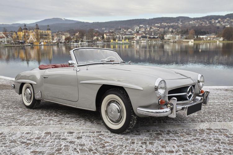1956 Mercedes-Benz 190 SL  No reserve