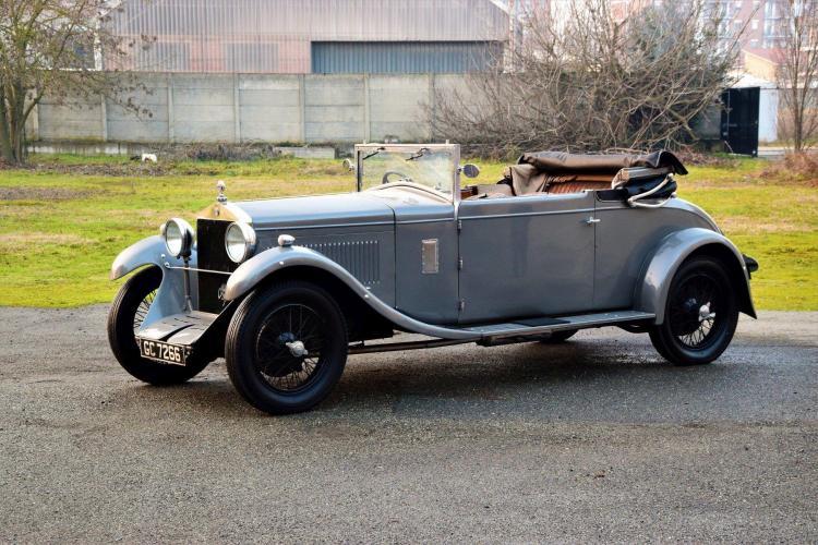 1929 Alfa Romeo 6C 1750 3e série Turismo par James Young