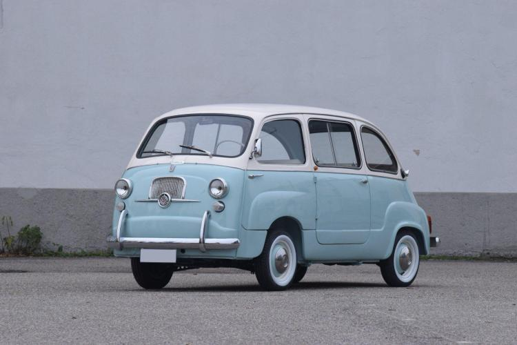 1963 Fiat 600 Multipla type 100 D  No reserve